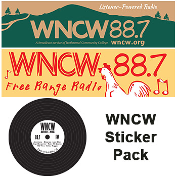 WNCW Sticker Package