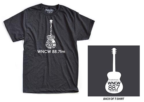 WNCW 2017-2018 t-shirt