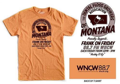 Frank on Friday 2017-2018 t-shirt