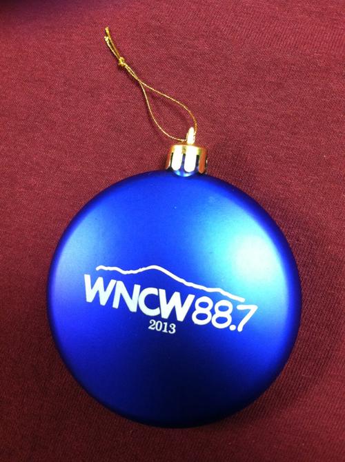 WNCW Ornament - 2013