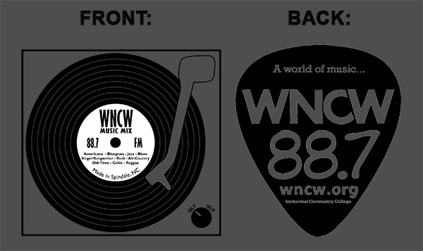 WNCW Station T-shirt