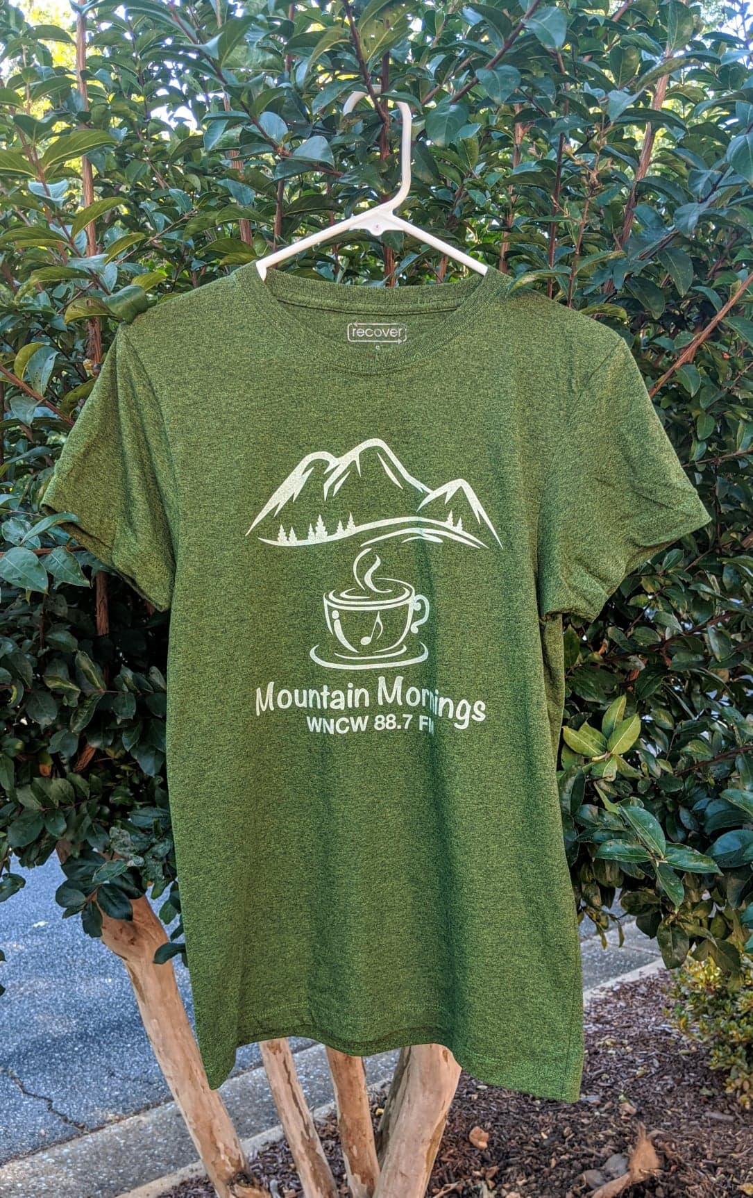 Mtn Mornings Tee Front