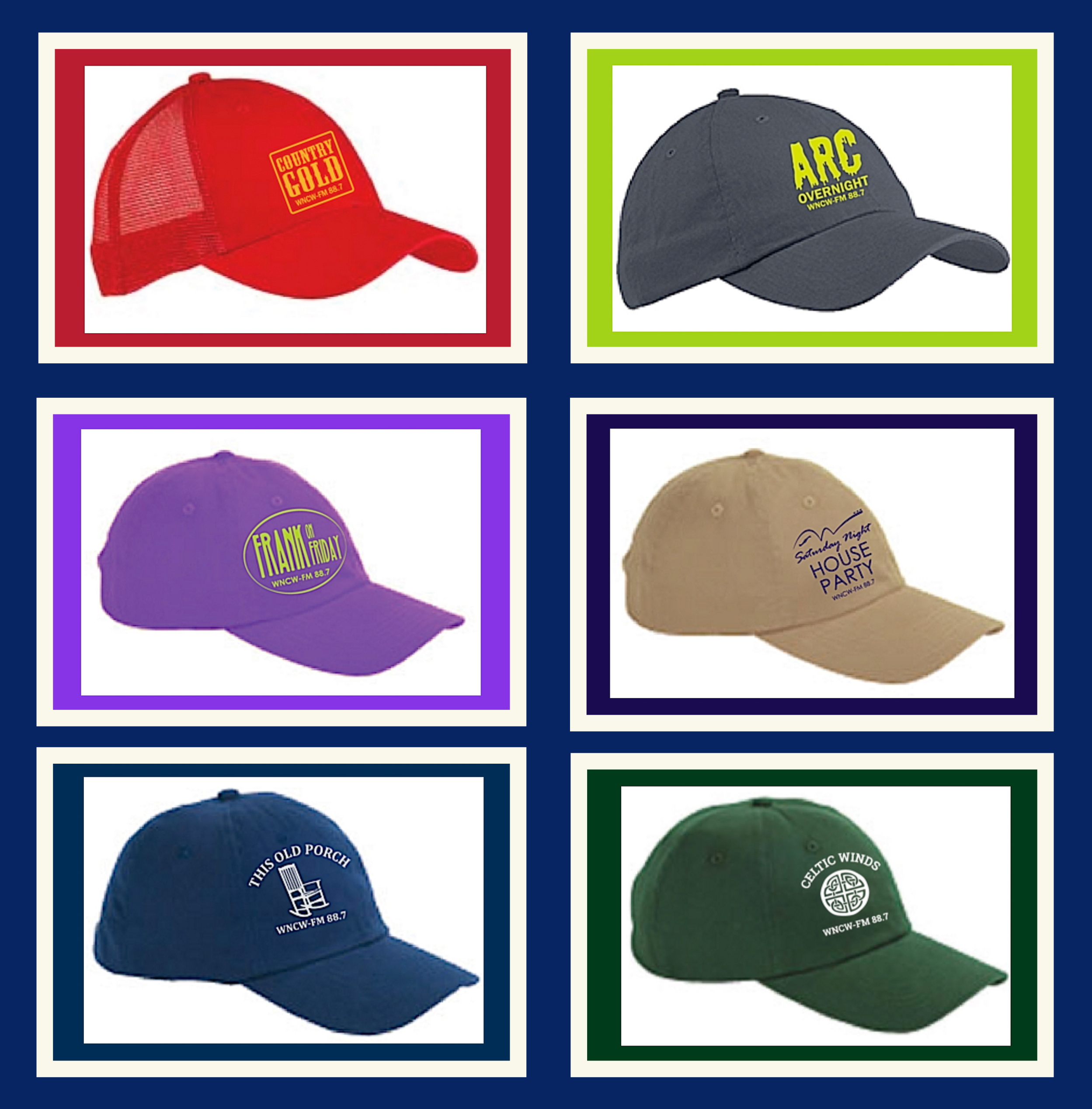 Specialty Caps
